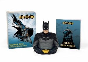 Batman Talking Bust and Illustrated Book Mini Kit