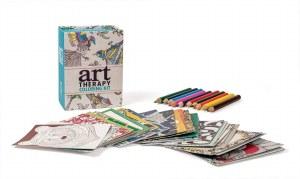 Art Therapy Coloring Mini Kit