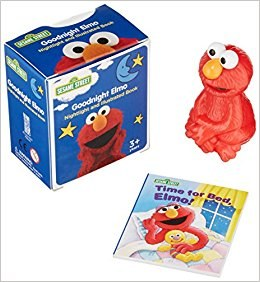 Sesame Street Goodnight Elmo Nightlight and Book