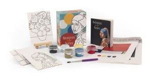 Masterpeices By The Numbers Art Kit
