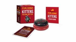 Exploding Kittens Talking Button Mini Kit