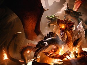 Dungeons and Dragons 5th Ed Rise of Tiamat HC