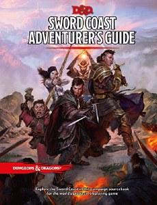 Dungeons and Dragons 5th Edition Sword Coast Adventurer's Guide