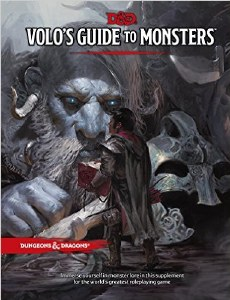 Dungeons and Dragons Volos Guide to Monsters