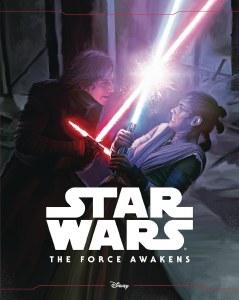 Star Wars Force Awakens Storybook Die Cut Illustrated HC