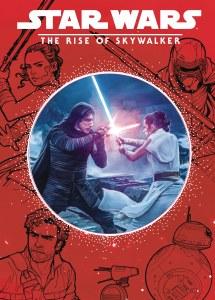 Star Wars Rise of Skywalker Storybook Die Cut Illustrated HC