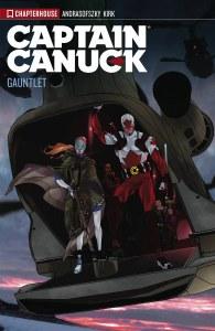 Captain Canuck TP Vol 02 Gauntlet