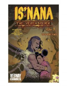Is'nana The Were-Spider Vol 02 The Hornet's Web