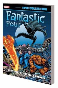 Fantastic Four Epic Collection TP Vol 04 Mystery of Black Panther