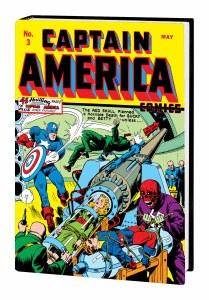 Golden Age Captain America Omnibus HC Vol 01 DM Variant