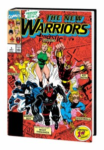 New Warriors Classic Omnibus HC Vol 01 Bagley DM Variant New Ptg