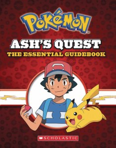 Pokemon Ash's Quest The Essential Guidebook HC