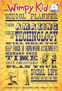 Wimpy Kid School Planner