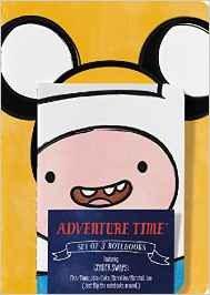 Adventure Time 3 Notebook Set