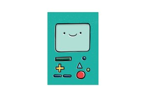 Adventure Time BMO Notepad