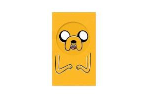 Adventure Time Jake Notepad