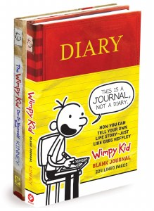 Diary of a Wimpy Kid Blank Journal/Do-It-Yourself Book Bundle