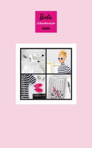Barbie Hardcover Journal