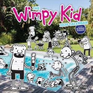 Diary of a Wimpy Kid 2020 Calendar