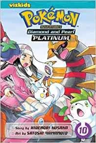 Pokemon Adventures Diamond & Pearl Platinum Vol 10