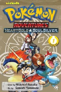 Pokemon Adventure Heart Gold Soul Silver Vol 01