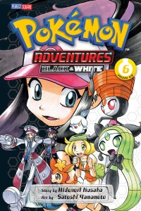 Pokemon Adventures Black and White Vol 06