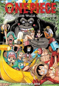 One Piece Color Walk Compendium Water Seven to Paramount War HC