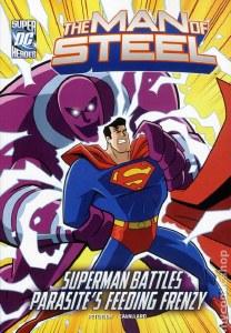 DC Superheroes Man of Steel Parasites Feeding Frenzy