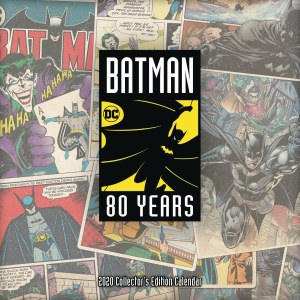 Batman 80th Anniversary Collector's Edition 2020 Calendar