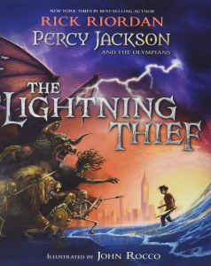Percy Jackson Lightning Thief Illustrated Edition