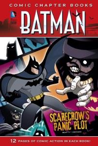 Comic Chapter Books Batman Scarecrow's Panic Plot