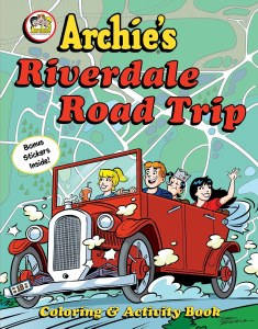 Archie's Riverdale Road Trip Activity and Coloring Book