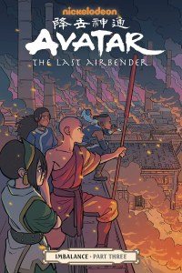 Avatar the Last Airbender Imbalance Part Three TP