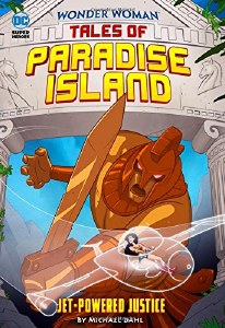 Wonder Woman Tales of Paradise Island Jet Powered Justice
