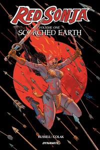 Red Sonja Scorched Earth TP