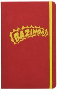 Big Bang Theory Bazinga Hardcover Ruled Journal
