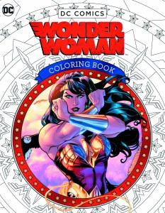 Wonder Woman Coloring Book Insight Editions