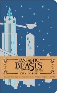 Fantastic Beasts City Skyline Small Journal