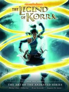 Art of Legend of Korra Animated Series HC 02 Spirits