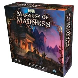 Arkham Horror Mansions of Madness Board Game 2nd edition