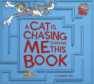 A Cat is Chasing Me Through This Book HC