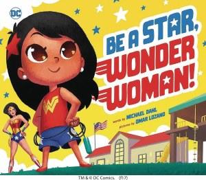 Be A Star Wonder Woman Board Book