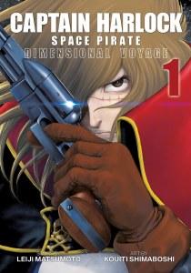 Captain Harlock Space Pirate Dimensional Voyage Vol 01