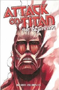 Attack on Titans The Beginning Boxed Set