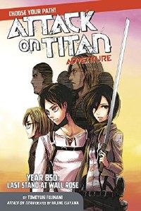 Attack on Titan Adventure Year 850 Last Stand at Wall Rose