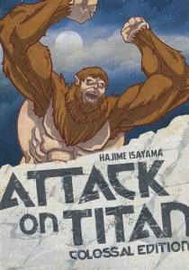 Attack on Titan Colossal Edition Vol 04