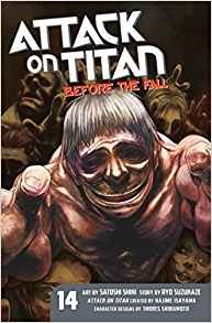 Attack on Titan Before the Fall Vol 14