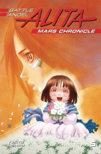 Battle Angel Alita Mars Chronicle Vol 05
