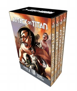Attack on Titan Season 2 Part 1 Vols 9-12 Box Set