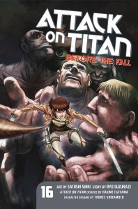 Attack on Titan Before the Fall Vol 16